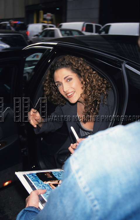 Melina Kanakaredes attends the NBC Primetime Preview at Lincoln Center in New York City on May 17th, 1999.