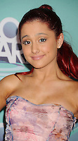 HOLLYWOOD, CA - OCTOBER 26: Ariana Grande arrives at the 3rd Annual TeenNick HALO Awards at Hollywood Palladium on October 26, 2011 in Hollywood, California. /NortePhoto.com<br />