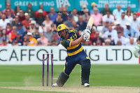 Chris Cooke in batting action for Glamorgan during Essex Eagles vs Glamorgan, NatWest T20 Blast Cricket at The Cloudfm County Ground on 16th July 2017