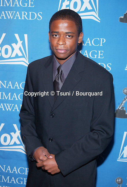 Dule Hill arriving at the 33rd luncheon NAACP Image Awards nomination at the House of Blues in Los Angeles. January 26, 2002.           -            HillDule06.jpg