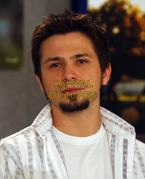 "FREDDY RODRIGUEZ.""Dreamer"". .Press conferences held at Sutton Place for the 2005 Toronto Film Festival, Toronto, Canada..September 10th, 2005.Photo Credit: Laura Farr/Admedia.headshot portrait goatee facial hair.www.capitalpictures.com.sales@capitalpictures.com.© Capital Pictures."