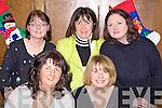 Enjoying a Christmas party renunion night for Kostal workers last Saturday in Leen's Hotel, Abbeyfeale were f l-r: Bernie Lane(Brosna), Mairead O'Mahony(Knocknagoshal). B l-r:Veronica Downes(Newcastle West), Helen Dalton(Ballubunnion) and Nuala Mangan(Carrigkerry).