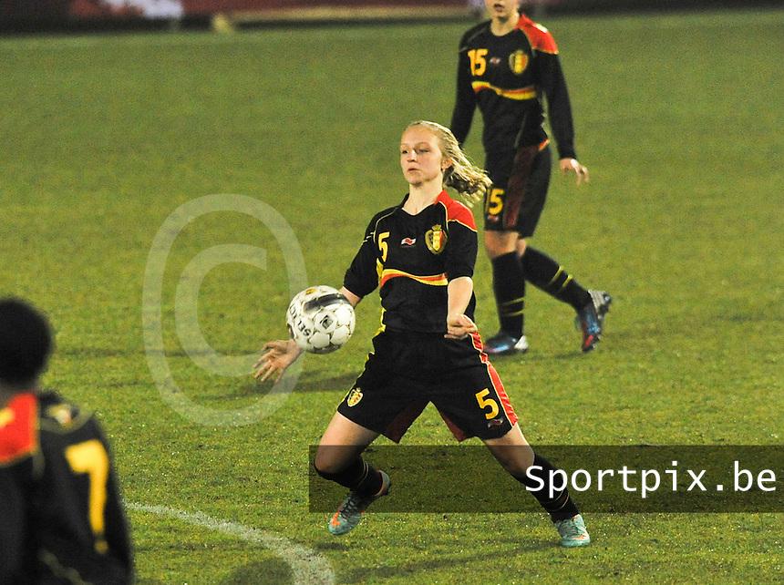 Netherlands U17 - Belgium U17 : Inne De Smet.foto Joke Vuylsteke / Vrouwenteam.be
