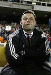 6 November 2004: DC head coach Peter Nowak. DC United defeated the New England Revolution 4-3 on penalties after the game ended in a 3-3 tie at RFK Stadium in Washington, DC in the Major League Soccer Eastern Conference Championship Match. .