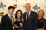 Nathan & Karen Chen with Terry & Tina Lundgren at Figure Skating in Harlem's Champions in Life (in its 21st year) Benefit Gala recognizing the medal-winning 2018 US Olympic Figure Skating Team on May 1, 2018 at Pier Sixty at Chelsea Piers, New York City, New York. (Photo by Sue Coflin/Max Photo)