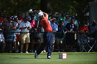 Patrick Reed (USA) during the second round of The Tour Championship, East Lake Golf Club, Atlanta, Georgia, USA. 22/08/2019.<br /> Picture Ken Murray / Golffile.ie<br /> <br /> All photo usage must carry mandatory copyright credit (© Golffile | Ken Murray)