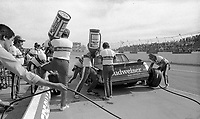Atlanta Journal 500 at Atlanta International Raceway in Hampton, GA on November 6, 1983. (Photo by Brian Cleary/www.bcpix.com)  Atlanta Journal 500, Atlanta Motor Speedway, Hampton, Georgia, November 6, 1983.  (Photo by Brian Cleary/www.bcpix.com)