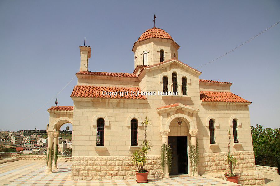 Israel, Jerusalem, the Greek Orthodox Church of Bethphage on the Mount of Olives