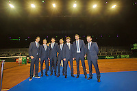 September 10, 2014,Netherlands, Amsterdam, Ziggo Dome, Davis Cup Netherlands-Croatia, Official Diner, Croation Team<br /> Photo: Tennisimages/Henk Koster