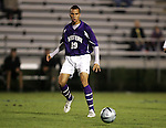 Western Illinois's Nowaf Jaman, of Kuwait, on Tuesday, October 11th, 2005 at Duke University's Koskinen Stadium in Durham, North Carolina. The Duke University Blue Devils defeated the Western Illinois Leathernecks 2-0 during an NCAA Division I Men's Soccer game.