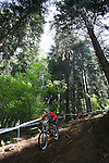 2012 Rockyroads.net UCI World Cup Mountain Biking Downhill, Val Di Sole Italy . Marianne RUUD on 02/06/2012, Val Di Sole, Italy..© Pierre Teyssot