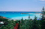 Agia Napa, Aya Napa, Nissi Beach, Cyprus. Zypern.