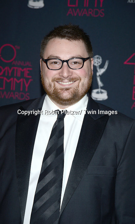 Jason Letkiewicz attends the 40th Annual Daytime Creative Arts Emmy Awards on June 14, 2013 at the Westin Bonaventure Hotel in Los Angeles, California.