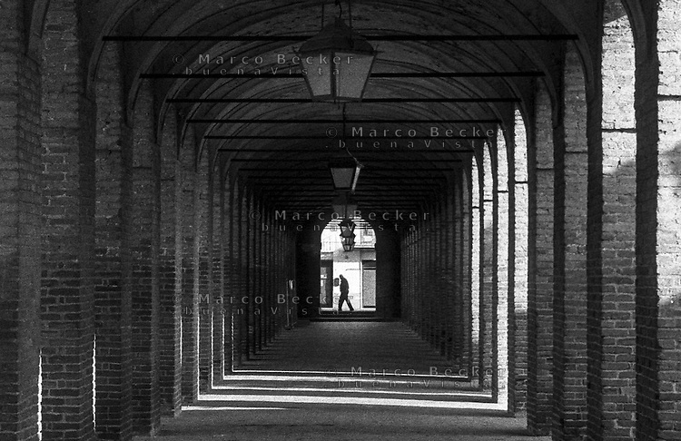 "Sabbioneta (Mantova), Galleria degli Antichi - Corridor Grande (""Gallery of the Ancient"")"
