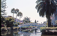 Venice CA: Looking south along eastern canal from Carroll Canal. Photo  '01.