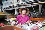 Damnoensaduak Floating Market