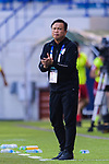 Thailand Head Coach Yodyadthai Sirisak reacts during the AFC Asian Cup UAE 2019 Group A match between Bahrain (BHR) and Thailand (THA) at Al Maktoum Stadium on 10 January 2019 in Dubai, United Arab Emirates. Photo by Marcio Rodrigo Machado / Power Sport Images