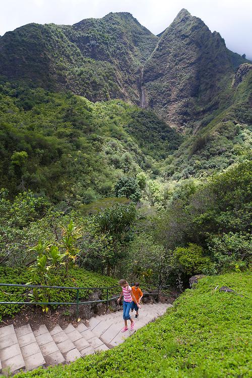 'Iao Needle State Park, Maui, Hawaii