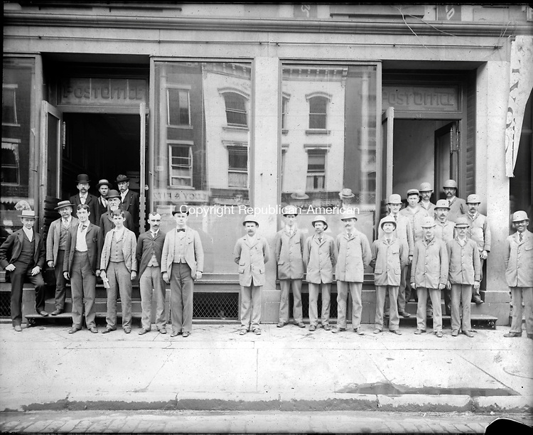 Frederick Stone negative. Old Post Office- Bank Street, c. 1891.