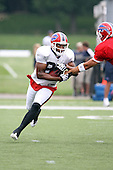 July 30th 2008:  Wide Receiver Lee Evans (83) of the Buffalo Bills during the sixth day of training camp at St. John Fisher College in Rochester, NY.  Photo Copyright Mike Janes Photography
