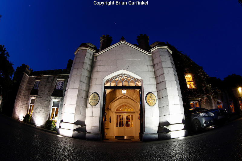 The Abbey Hotel Manor House Hotel is seen at night in Roscommon, County Roscommon, Ireland on Monday, June 24th 2013. (Photo by Brian Garfinkel)