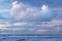 Clouds over the Oregon Coast