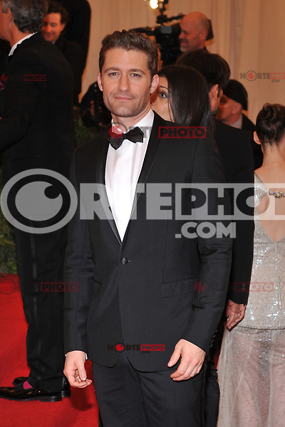 Matthew Morrison at the 'Schiaparelli And Prada: Impossible Conversations' Costume Institute Gala at the Metropolitan Museum of Art on May 7, 2012 in New York City. ©mpi03/MediaPunch Inc.