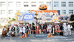 Participants dressed in costumes of Star Wars characters take part in a ceremony for Halloween parade in Kawasaki, near Tokyo, on Sunday, October 25, 2015. (Photo by AFLO)