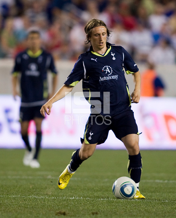 Luka Modric. Tottenham defeated the New York Red Bulls, 2-1.