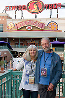 Screenwriter/Co-Producer judywhite with Actor Graham Rice at the premiere of Lies I Told My Little Sister, Gasparilla International Film Festival, Tampa, Florida, March 2014