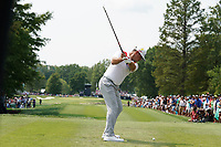 Gary Woodland (USA) tees off on the 7th hole during the final round of the 100th PGA Championship at Bellerive Country Club, St. Louis, Missouri, USA. 8/12/2018.<br /> Picture: Golffile.ie | Brian Spurlock<br /> <br /> All photo usage must carry mandatory copyright credit (&copy; Golffile | Brian Spurlock)
