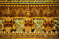 The Grand Palace, Bangkok, Thailand, detail