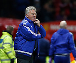 Guus Hiddink manager of Chelsea ponders the display - English Premier League - Manchester Utd vs Chelsea - Old Trafford Stadium - Manchester - England - 28th December 2015 - Picture Simon Bellis/Sportimage