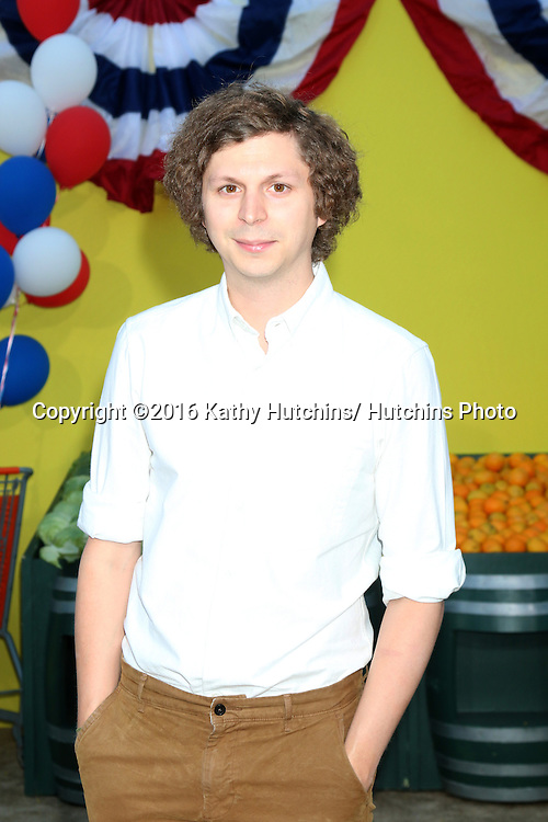 "LOS ANGELES - AUG 9:  Michael Cera at the ""Sausage Party"" Premiere at the Village Theater on August 9, 2016 in Westwood, CA"