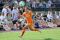 Kacey White (8) of Sky Blue FC. The Philadelphia Independence defeated Sky Blue FC 2-1 during a Women's Professional Soccer (WPS) match at John A. Farrell Stadium in West Chester, PA, on June 6, 2010.