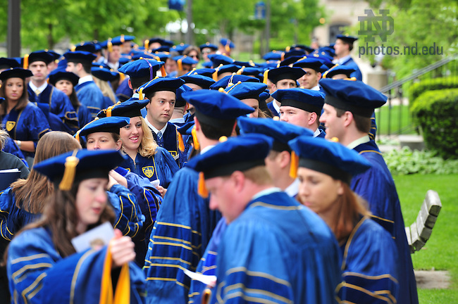 Law School Commencement..Photo by Matt Cashore/University of Notre Dame