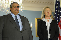Hillary Clinton and Bahraini Foreign Minister