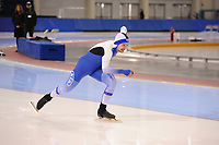 SPEEDSKATING: SALT LAKE CITY: 06-12-2017, Utah Olympic Oval, ISU World Cup, training, Miro Puolakka (FIN), photo Martin de Jong