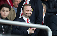 Ed Woodward Chief Executive of Manchester United during the Premier League match between Bournemouth and Manchester United at the Goldsands Stadium, Bournemouth, England on 18 April 2018. Photo by Andy Rowland.