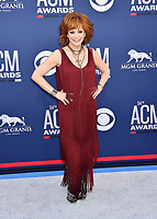 LAS VEGAS, CA - APRIL 07: Reba McEntire attends the 54th Academy Of Country Music Awards at MGM Grand Hotel &amp; Casino on April 07, 2019 in Las Vegas, Nevada.<br /> CAP/ROT/TM<br /> &copy;TM/ROT/Capital Pictures