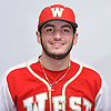 Bradley Camarda of Half Hollow Hills West poses for a portrait during Newsday's varsity baseball season preview photo shoot at company headquarters on Saturday, March 18, 2017.