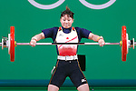 Kanae Yagi (JPN), <br /> AUGUST 7, 2016 - Weightlifting : <br /> Women's 53kg <br /> at Riocentro - Pavilion 2 <br /> during the Rio 2016 Olympic Games in Rio de Janeiro, Brazil. <br /> (Photo by Sho Tamura/AFLO SPORT)