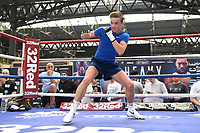 Dennis McCann during a Public Workout at Old Spitalfields Market on 9th July 2019