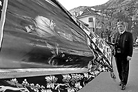 Bolzano, Italia, Alto Adige, festa di San Martino, 11 novembre