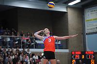 VOLLEYBAL: SNEEK: 12-11-2014, Sneker Sporthal, Europese wedstrijd om de Challenge Cup, uitslag 3-2, Fenna Zeinstra, ©foto Martin de Jong
