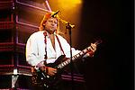 Greg Lake performing in the 1980's.<br />© David Plastik / Retna Ltd.