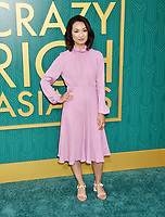 HOLLYWOOD, CA - AUGUST 07:  Jae Suh Park arrives at the Warner Bros. Pictures' 'Crazy Rich Asians' premiere at the TCL Chinese Theatre IMAX on August 7, 2018 in Hollywood, California.<br /> CAP/ROT/TM<br /> &copy;TM/ROT/Capital Pictures