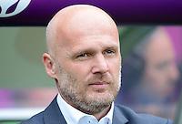 FUSSBALL  EUROPAMEISTERSCHAFT 2012   VORRUNDE Griechenland - Tschechien         12.06.2012 Trainer Michal Bilek (Tschechische Republik)