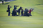 Photographers during the 58th UBS Hong Kong Golf Open as part of the European Tour on 11 December 2016, at the Hong Kong Golf Club, Fanling, Hong Kong, China. Photo by Vivek Prakash / Power Sport Images