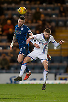 4th January 2020; Dens Park, Dundee, Scotland; Scottish Championship Football, Dundee FC versus Inverness Caledonian Thistle; Jordan McGhee of Dundee competes in the air with Shaun Rooney of Inverness Caledonian Thistle  - Editorial Use